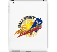 Gallifrey Renegades! iPad Case/Skin