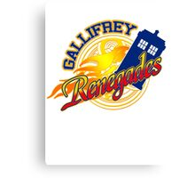 Gallifrey Renegades! Canvas Print