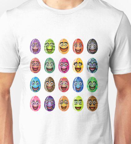 Coloring easter egg happy laugh Unisex T-Shirt