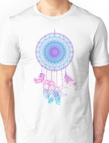 Mandala in dreamcatcher Unisex T-Shirt