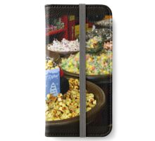 Preparing for Winter in the Candy Store  iPhone Wallet/Case/Skin