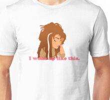 Anna- I woke up like this. Frozen Unisex T-Shirt