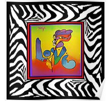 PETER MAX LOVE Poster
