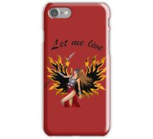 The leather legend. iPhone Case/Skin