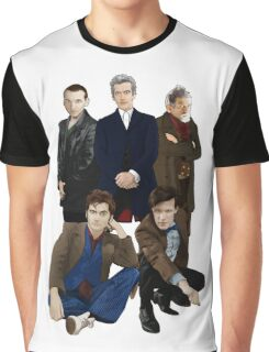 Doctor Who - The Doctors Graphic T-Shirt