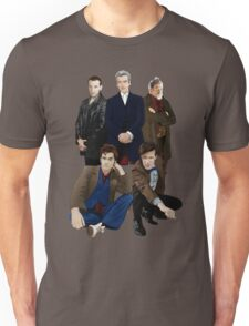 Doctor Who - The Doctors Unisex T-Shirt