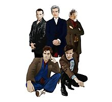 Doctor Who - The Doctors Photographic Print