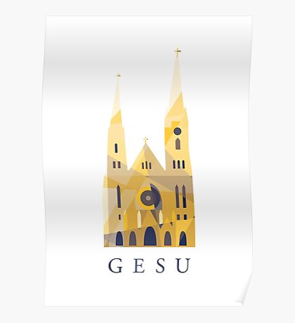 Church of The Gesu | Marquette University, Milwaukee Poster