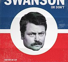 Ron Swanson case by nikowned
