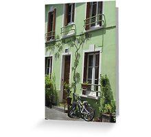 Rue Crémieux, Paris Greeting Card