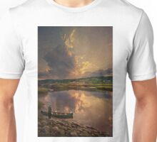 End of Day, Sheepscot, Maine Unisex T-Shirt