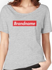 Brandname Women's Relaxed Fit T-Shirt