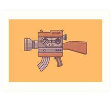 Camera Gun Art Print