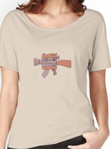 Camera Gun Women's Relaxed Fit T-Shirt