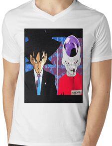 dbz goku vs frieza for president 2016 Mens V-Neck T-Shirt