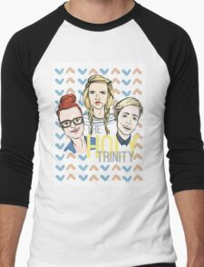 The Holy Trinity Men's Baseball ¾ T-Shirt