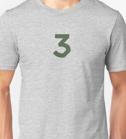 Chance the Rapper - Chance 3 Coloring Book Olive Unisex T-Shirt