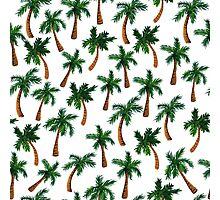 Palm Tree Print Photographic Print