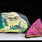 Memories: Mother & Son Painted Stones by heatherfriedman