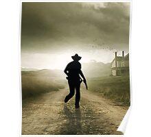 The Walking Cowboy Poster