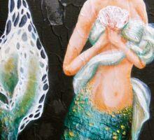 Serena - Mermaid art Sticker
