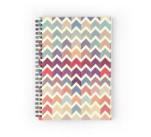Watercolor Chevron Pattern VII Spiral Notebook