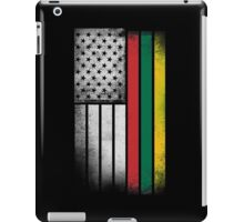 Lithuanian American Flag iPad Case/Skin