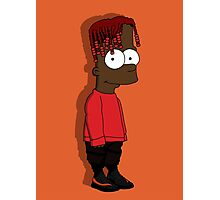 LIL YACHTY - TOP art cartoon  Photographic Print