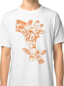 Giraffe Orange Classic T-Shirt