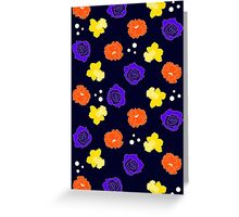 Graphic Floral Greeting Card