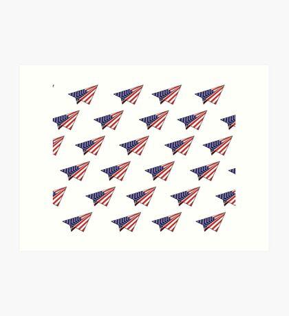 Paper Airplane 35 Art Print