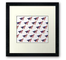 Paper Airplane 35 Framed Print