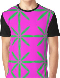 Groovy Flowers Graphic T-Shirt