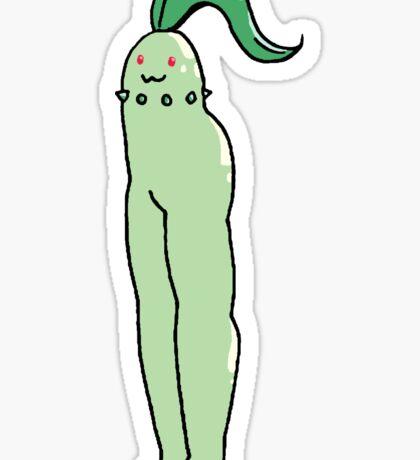 Leggy Chikorita Sticker