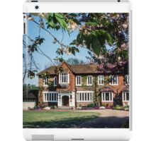 Lady house over monastery crypt priory Hurley England 19840512 0006 iPad Case/Skin