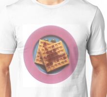 Waffles With Syrup Unisex T-Shirt