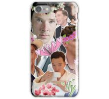 ben c: collage iPhone Case/Skin