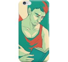 jw: a quiet moment iPhone Case/Skin
