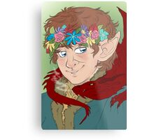 bilbo: actual disney princess Metal Print