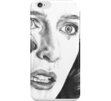 Dana Scully- Pusher (with tear) iPhone Case/Skin