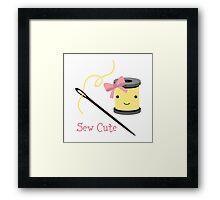 Sew Cute Framed Print