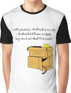 calvin box Graphic T-Shirt
