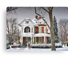 Victorian on 4th Street Canvas Print