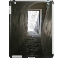 El Morro tunnel exit iPad Case/Skin