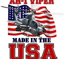 AH-1Z Viper Made in the USA by Mil Merchant