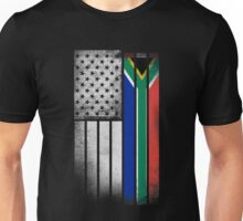 South African American Flag Unisex T-Shirt