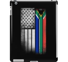 South African American Flag iPad Case/Skin