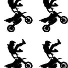 Motocross stickers x4 by ilmagatPSCS2