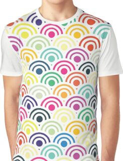 Colorful Circles III Graphic T-Shirt
