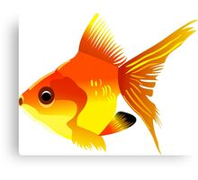 Free fish icons print art Canvas Print